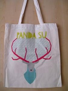 Image of **SALE** 'Stag' Panda Su Tote Bag