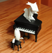 Image of To the Moon // For River // Everything's Alright -- Grand Piano Music Boxes
