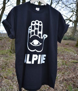 Image of ALPINE CHAMSA TSHIRT - BLACK