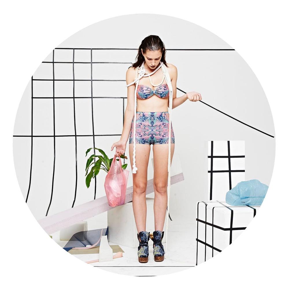 Image of FRACTAL MANSION short shorts