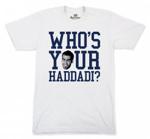 Image of Who's Your Haddadi? T-shirt