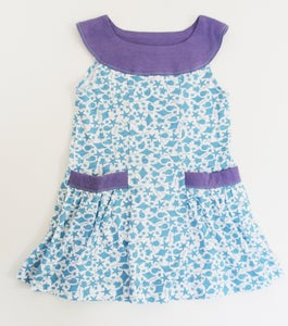 Image of Sea Life and Lavender Twirly Tunic Dress
