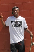Image of Positive Vibes ft (Jimmy Hendrix) Tee