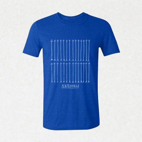 Image of SI01   Playlounge - Arrows Band T-Shirt by Lew Currie