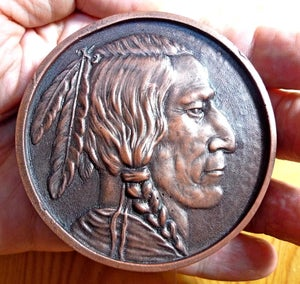 Image of Native American Desk Weight (Male)