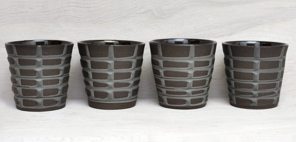 Image of banded tumblers large