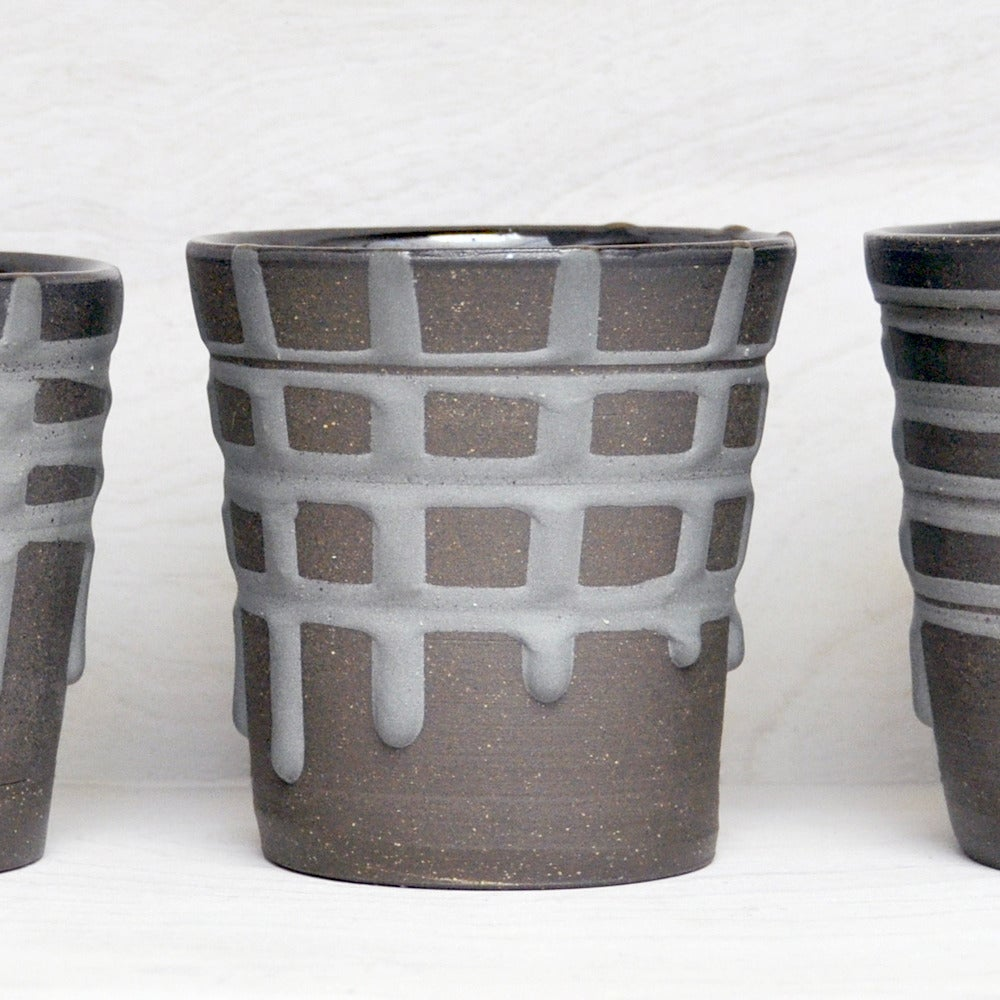 Image of banded tumblers medium
