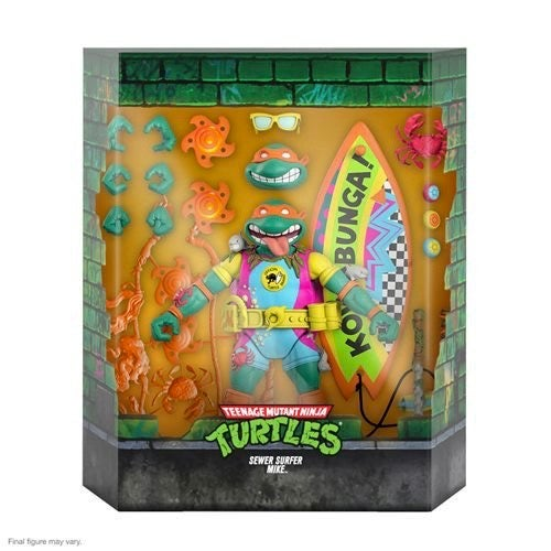 Image of TMNT Ultimates Sewer Surfer Mike 7-Inch Action Figure