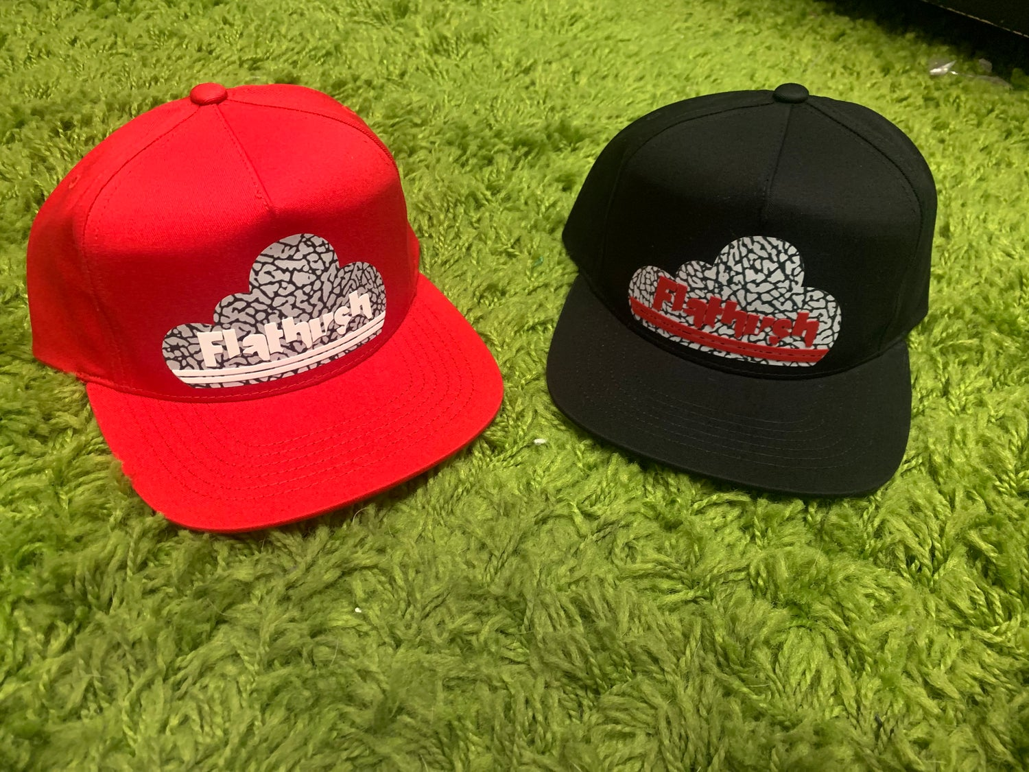 Image of Welcome To Flatbush SnapBack Limited Edition Black/Cement/Red