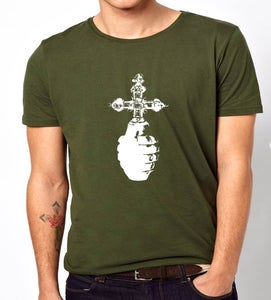 Image of Holy Hand Grenade - army T-Shirt 2013