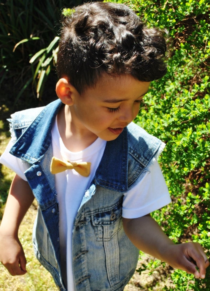 Image of Diddie Bow Tees - Conflower & White