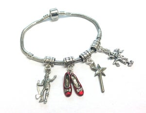 Image of Wizard Of OZ Charm Bracelet