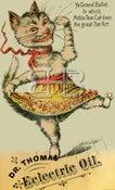 Image of Dr. Thomas' Eclectric Oil - Dancing Cat