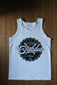Image of Overdue - Beer Cap Tank (White)