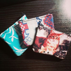 Image of Overdue - Coin/Card Pouch