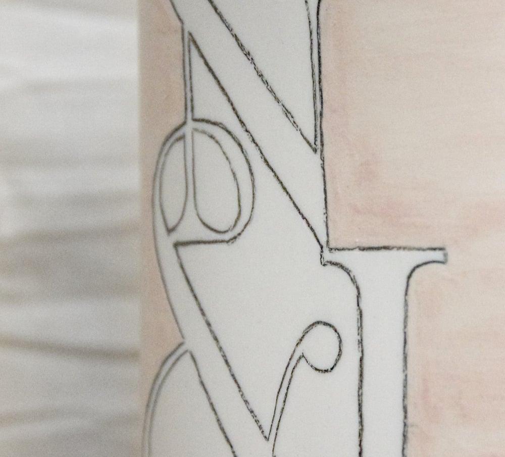 Image of Custom designed bottle