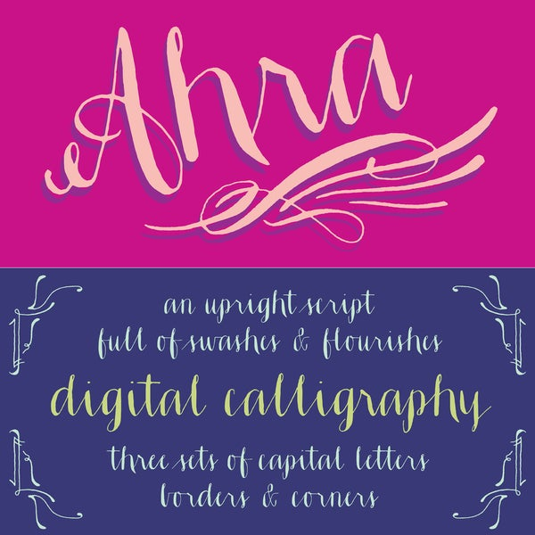 Ahra Font - Magpie Paper Works