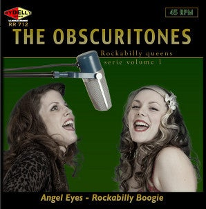 Image of The Obscuritones - Angel Eyes - Rydell's Records.