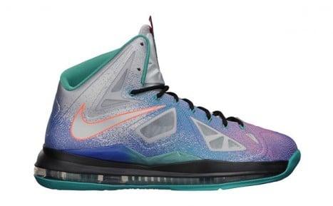 "Image of Nike LeBron X ""Re-Entry"""