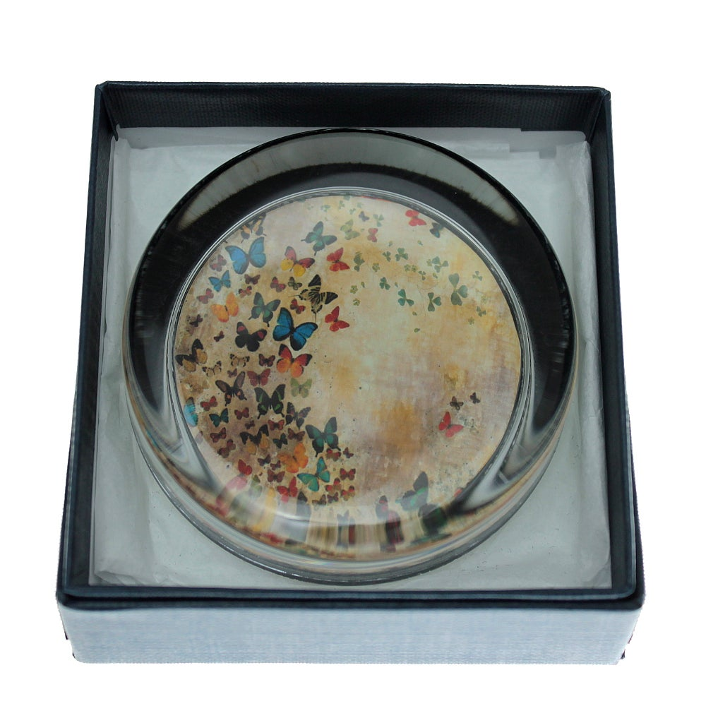 Image of END OF LINE SALE: 50% off - Paperweight - Summer Butterflies