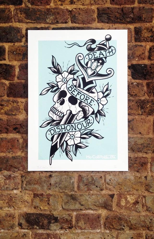 Image of Dagger Screen Print