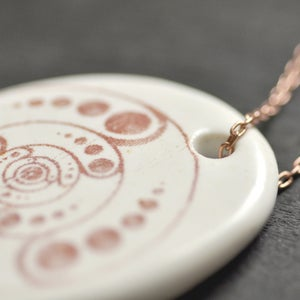 Image of crop circles pendant 3