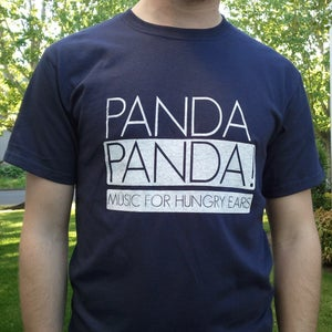 Image of Music For Hungry Ears Tee (Navy)