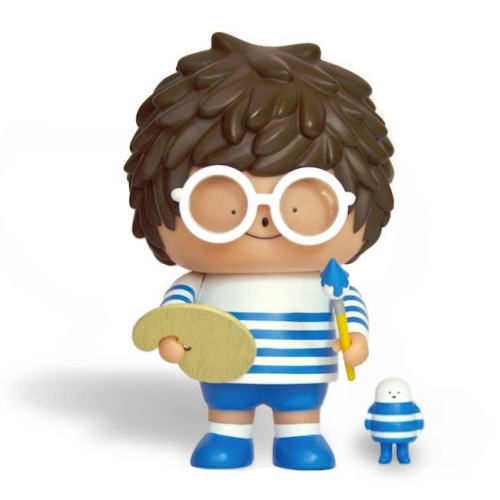 Image of REN 3 Vinyl Toy by CRAZY LABEL BUBI AU YEUNG 5""