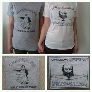 Image of Darwin / Napoleon t-shirt