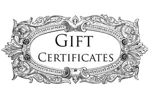 Image of Paraphernalia Gift Certificates!