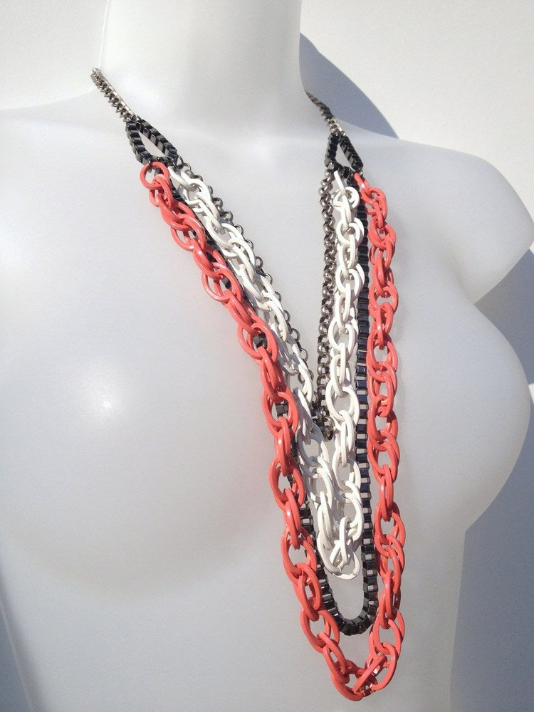 Image of 'Mix it Up' Necklace as seen on Laura Cunningham #Girlfri3nds