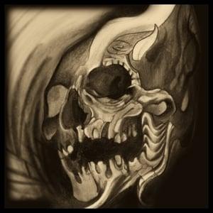 Image of Sepia Skull