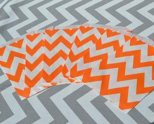 Image of Orange Chevron Party Bags