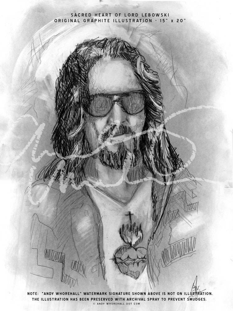Image of The Sacred Heart of Lord Lebowski