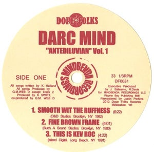 "Image of DARC MIND ""ANTEDILUVIAN VOL.1"" SOLD OUT***"