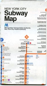 Image of MINT 1979 New York City Subway Guide
