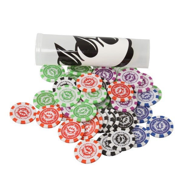Image of Claw Money Poker Chips