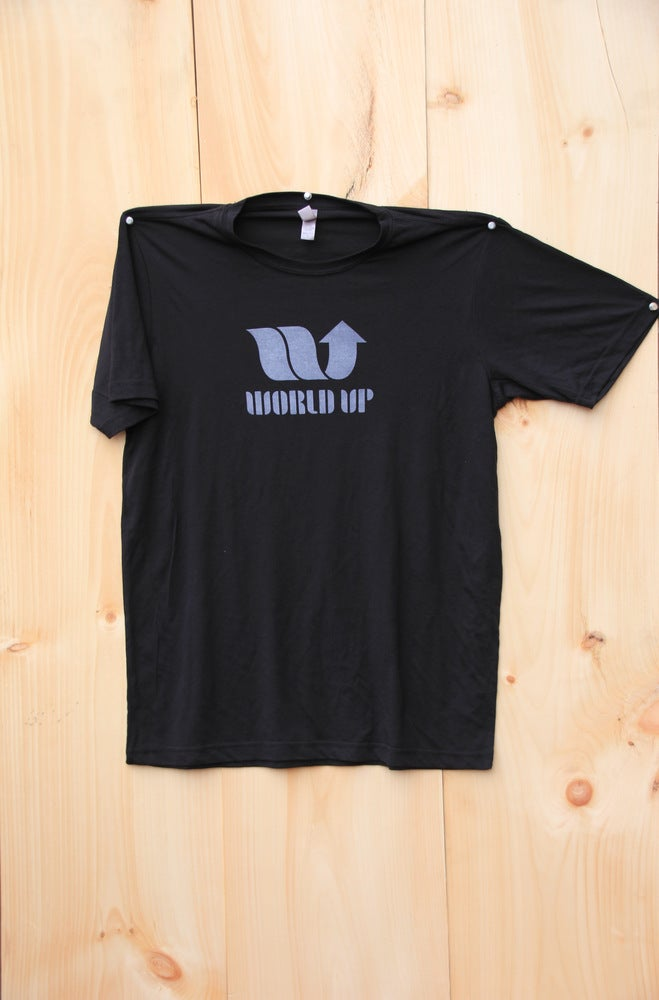 Image of World Up Unisex Crew Neck Shirt