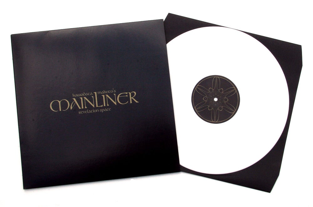 MAINLINER 'Revelation Space' White Vinyl LP