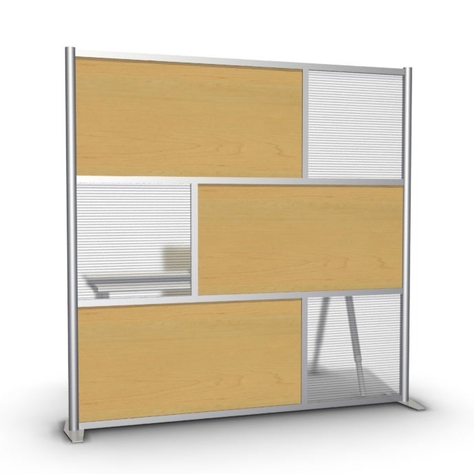 iDivide Walls Modern Room Divider Office Partition 75w x 75h