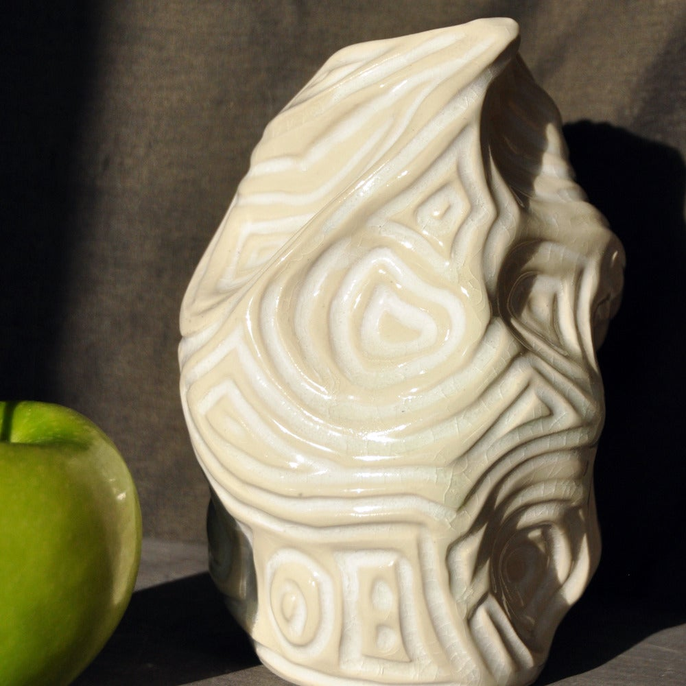 Image of topographic vase