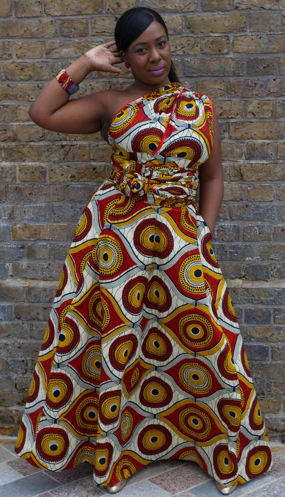 Image of Sunshine Burst (Multi-Wear Maxi Dress)