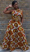 Sunshine Burst (Multi-Wear Maxi Dress)