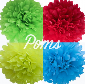 Image of POP Tissue Poms