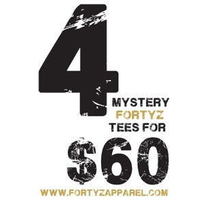 "Image of FORTYZ  ""4 MYSTERY TEE"" BOX"