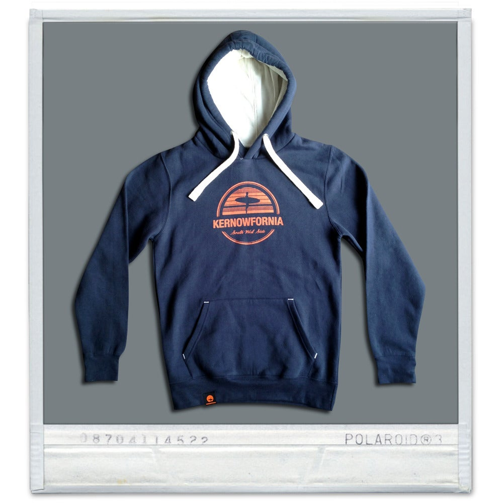 Image of Unisex - Afterglow hoodie (Navy or Dusty Blue-Grey)