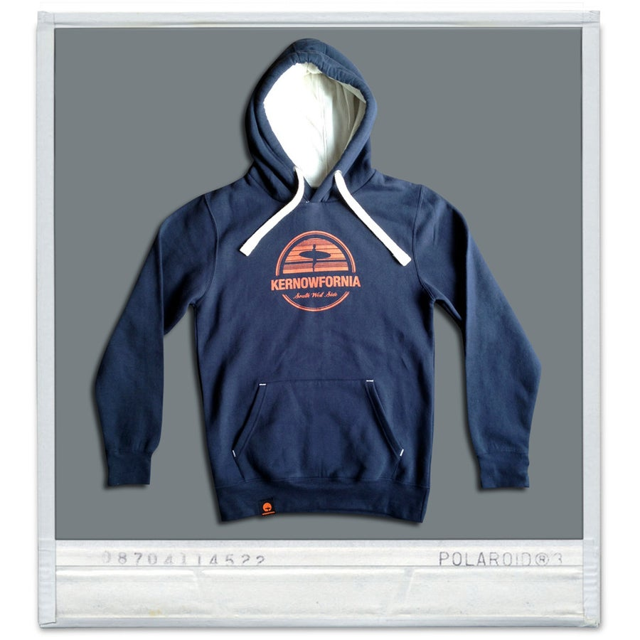 Image of Unisex - Afterglow hoodie (Navy)