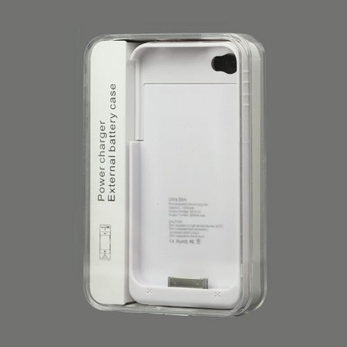 detailed look 2770c ead36 Iphone 4/4s External Battery Charger Case