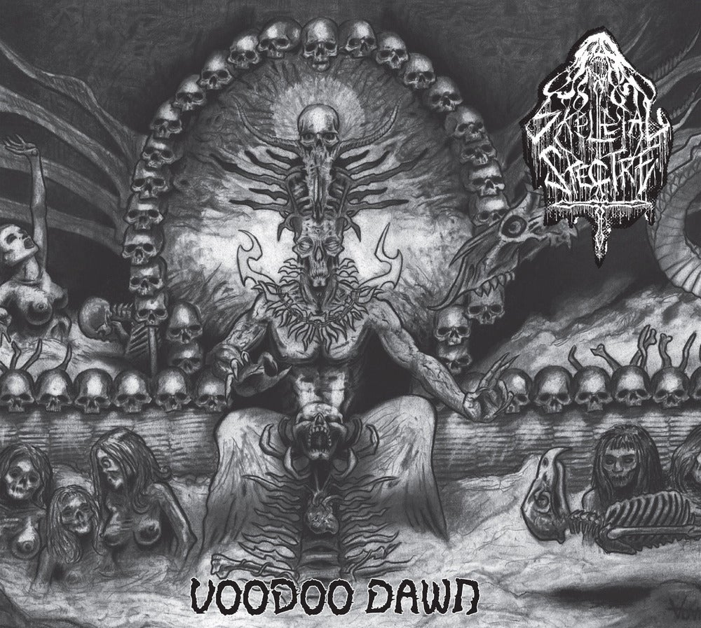 "SKELETAL SPECTRE ""Voodoo Dawn"" Digipak CD"