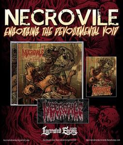 Image of NECROVILE - Engorging The Devourmental Void - CD
